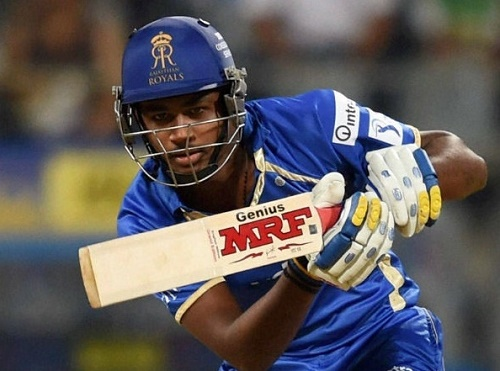 Sanju Samson in Vivo IPL 2016 auction.
