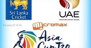 Sri Lanka vs UAE Live Streaming 2016 Asia Cup