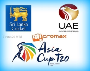 Sri Lanka vs UAE Live Streaming 2016 Asia Cup.