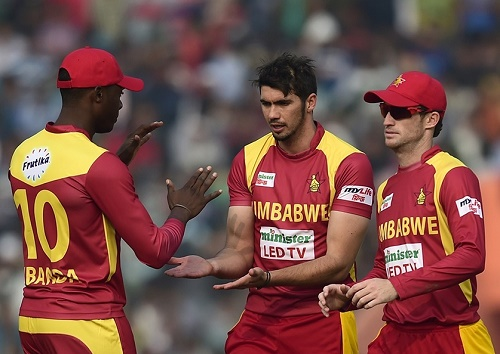 Zimbabwe declared ICC World Twenty20 2016 Team.