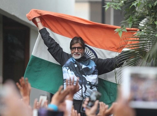 Amitabh to sing national Anthem in Ind-Pak wt20 match.