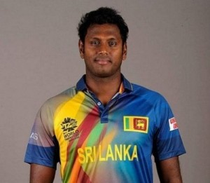 Angelo Mathews wearing world t20 2016 outfit.