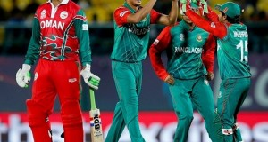 Bangladesh beat Oman to qualify for super-10 in wt20