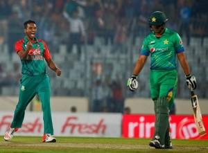 Bangladesh beat Pakistan to reach 2016 Asia Cup final.