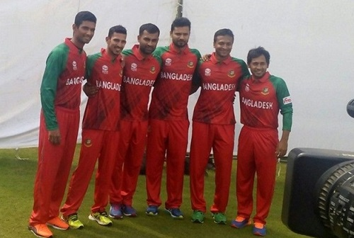 Bangladesh new jersey for ICC world twenty20 2016.