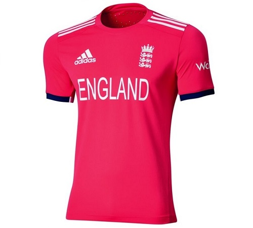 England team's new kit for 2016 ICC World T20.