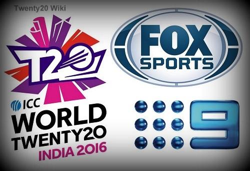 Fox Sports, Channel 9 to broadcast world t20 2016 in Australia