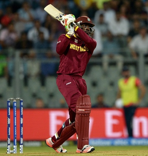 Gayle breaks McCullum's record of hitting most T20I sixes.