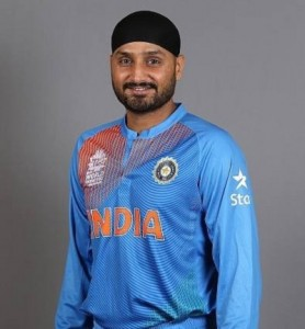 Harbhajan Singh new look Indian jersey for ICC world t20 2016.
