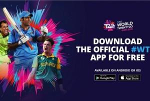 ICC World Twenty20 2016 Official App Released.