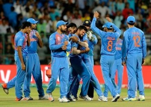 India beat Bangladesh by 1 run in close wt20 contest.