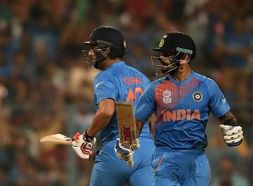 India beat Pakistan by 6 wickets in 2016 t20 world cup.
