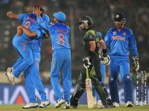 India beat Pakistan by 7 wickets in ICC world t20 2014.