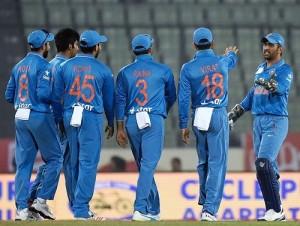 India beat Sri Lanka to reach 2016 Asia Cup final.