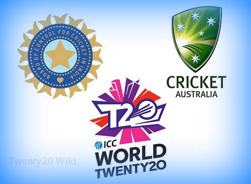 India vs Australia ICC World Twenty20 Rivalry.