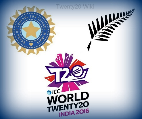 India vs New Zealand Match-13 ICC World T20 2016.