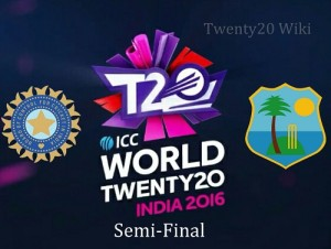 India vs West Indies Live Streaming 2nd semi-final world t20.