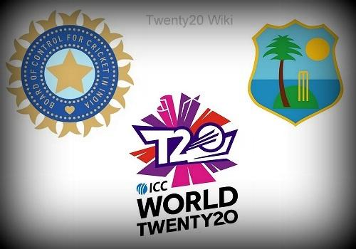 India vs West Indies World Twenty20 Head to Head.