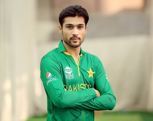 Mohammad Amir jersey for ICC t20 cricket world cup 2016.