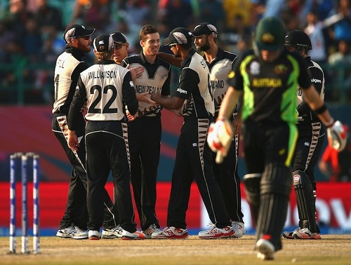 New Zealand beat Australia by 8 runs in 2016 wt20.