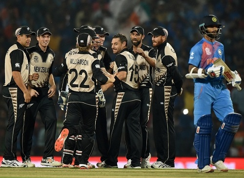 New Zealand thrashed world t20 favorites India in opener.