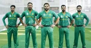 Pakistan team Jersey, Kit for world twenty20 2016