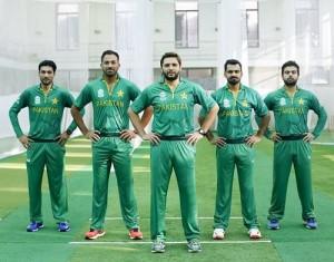 Pakistan team Jersey, Kit for world twenty20 2016.