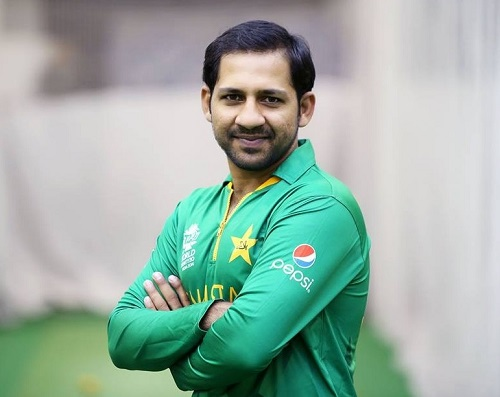 Sarfraz Ahmed in world t20 2016 kit.