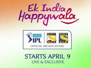 Sony launches Vivo IPL 2016 campaign Ek India Happywala.