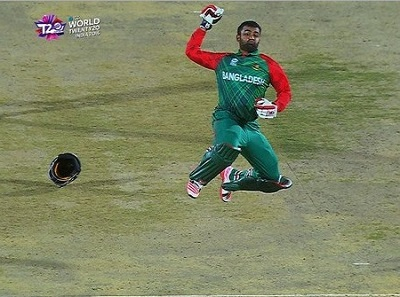 Tamim Iqbal hits first hundred of World T20 2016.