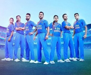 Team India's New kit, jersey revealed for world t20 2016.