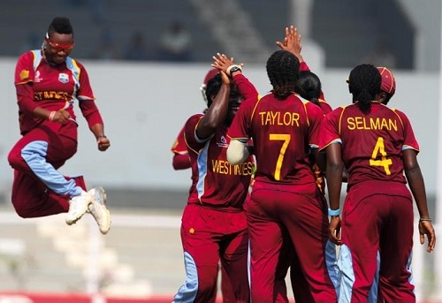 West Indies Women's Squad for world t20 2016.