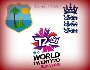 West Indies vs England match-14 world twenty20 2016.