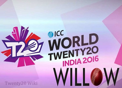 Willow TV to telecast world twenty20 2016 live in US.