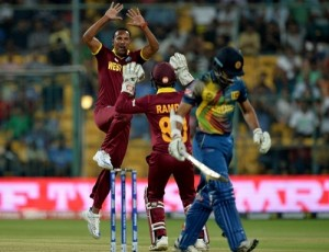 World T20 2016 West Indies beat Sri Lanka by 7 wickets.