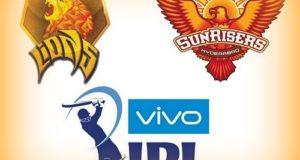 Gujarat Lions vs Sunrisers Hyderabad Preview 2016 IPL