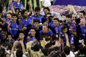 Rajasthan Royals won 2008 Indian Premier League