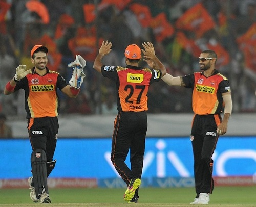 Sunrisers Hyderabad vs Rising Pune Supergiants IPL 2016 live.