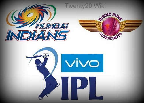 Vivo IPL 2016 Match-1 Mumbai vs Pune.