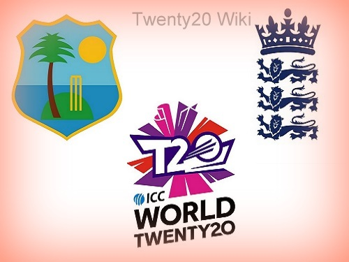 West Indies vs England World T20 Head to Head.