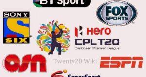 Caribbean Premier League 2016 Broadcasters, Live Telecast