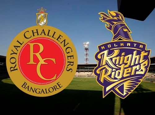RCB vs KKR Match-30 Preview Vivo IPL 2016.