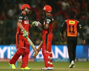 RCB vs SRH IPL 2016 Final Predicted Playing XI.