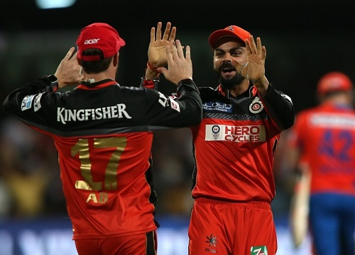 Royal Challengers Bangalore beat Gujarat Lions to enter IPL 2016 Final.
