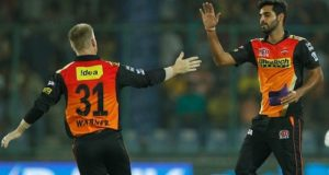 Sunrisers Hyderabad beat Gujarat to enter IPL Final 2016