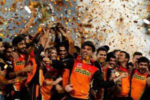Sunrisers Hyderabad beat RCB to win Vivo IPL 2016.