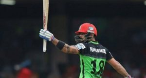 Virat Kohli becomes first batsman to hit 3 tons in an IPL season