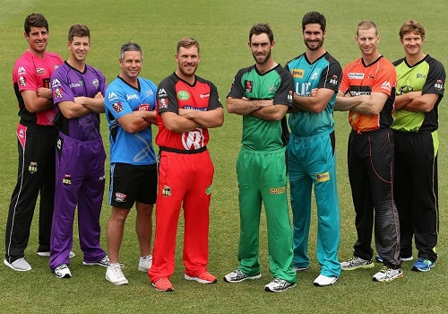 All 8 teams squad for BBL-06.