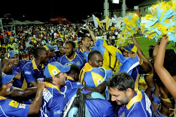 Barbados Tridents won 2014 CPLT20 championship.