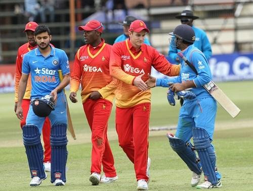 India vs Zimbabwe 1st T20 Live Stream, Telecast 2016.